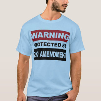 Protected By 2nd Amendment T-Shirt