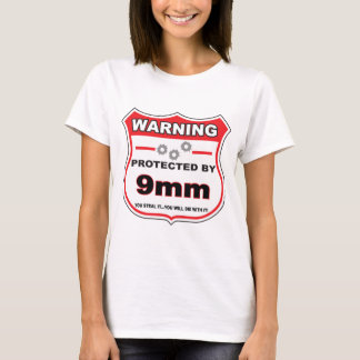 protected by 9mm shield.png T-Shirt