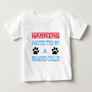 Protected By A Bearded Collie Dog T-shirt