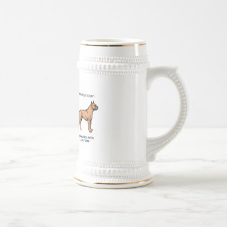 Protected by a Boxer Beer Stein