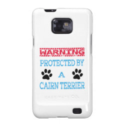 Case-Mate Samsung Galaxy S2 Barely There Case with Cairn Terrier Phone Cases design