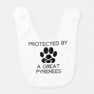 Protected By A Great Pyrenees Bib