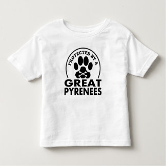 Protected By A Great Pyrenees Tee Shirt