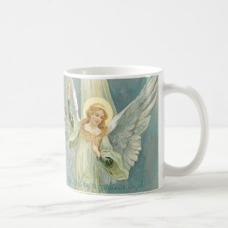 Protected by a Guardian Angel Coffee Mug