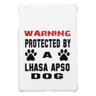 Protected By A Lhasa Apso Dog iPad Mini Cases