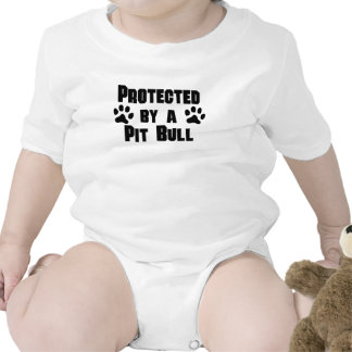 Protected By A Pit Bull Romper