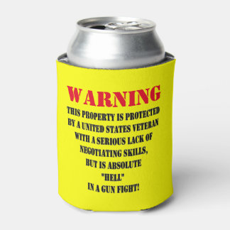 PROTECTED BY A VETERAN CAN COOLER