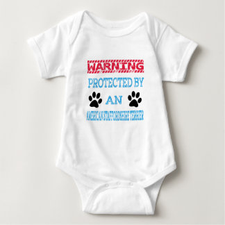 Protected by an American Staffordshire Terrier Dog T-shirt
