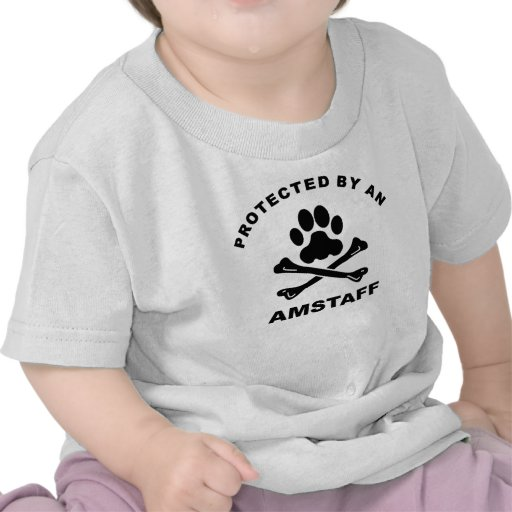 Protected By An AmStaff T-shirt