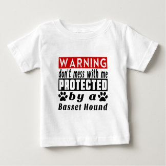 Protected By Basset Hound Shirts