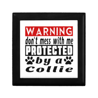 Protected By Collie Jewelry Boxes