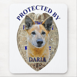 Protected By Daria Mouse Pad