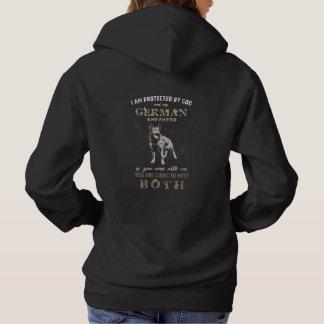 Protected by German Shepherd Dog  - GSD Hoodie