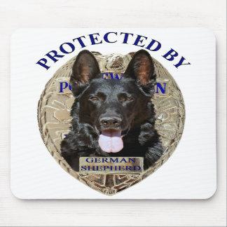Protected By German Shepherd Mousepads