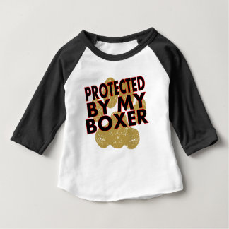 Protected By My Boxer Infant T-shirt