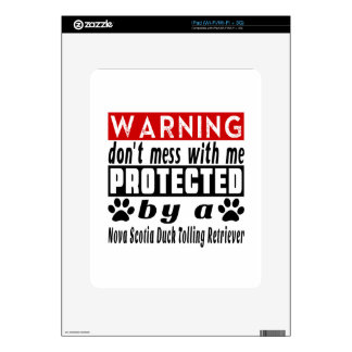 Protected By Nova Scotia Duck Tolling Retriever Decal For The iPad