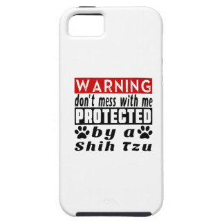 Protected By Shih Tzu iPhone 5 Case