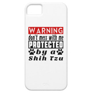 Protected By Shih Tzu iPhone 5 Covers