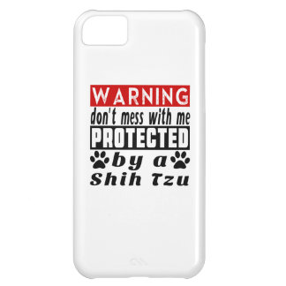 Protected By Shih Tzu iPhone 5C Covers
