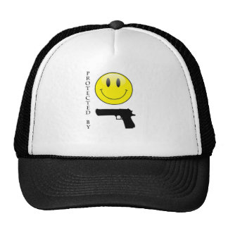Protected by Smiley Face Hat
