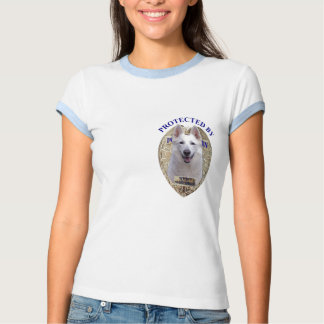 Protected By White Shepherd Tees