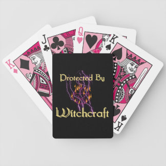 Protected By Witchcraft Bicycle Playing Cards