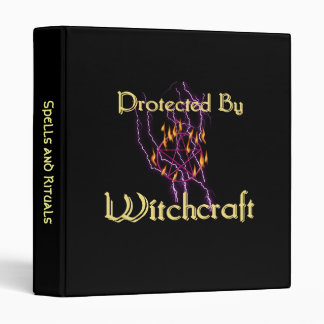 Protected By Witchcraft Binder