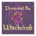 Protected By Witchcraft Card