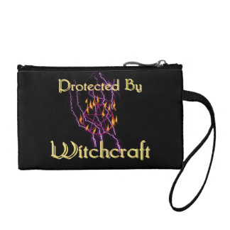 Protected By Witchcraft Change Purse