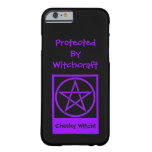 Protected by Witchcraft Cheeky Witch iPhone 6 case iPhone 6 Case