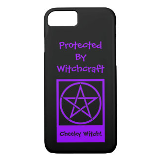 Protected by Witchcraft Cheeky Witch iPhone 7 case