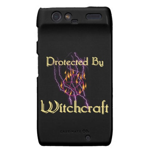 Protected By Witchcraft Droid RAZR Cases