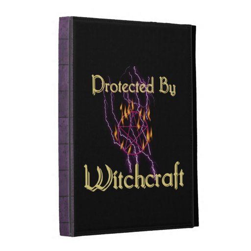 Protected By Witchcraft iPad Folio Case