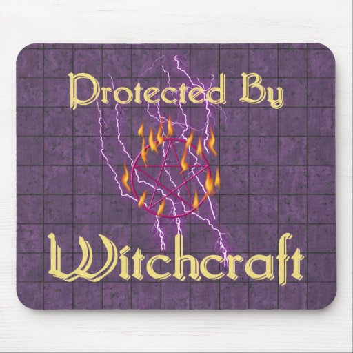 Protected By Witchcraft Mouse Pad