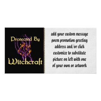 Protected By Witchcraft Picture Card