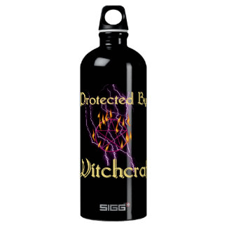 Protected By Witchcraft Water Bottle