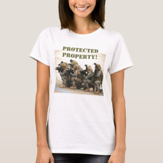 Protected Property! women' t-shirt