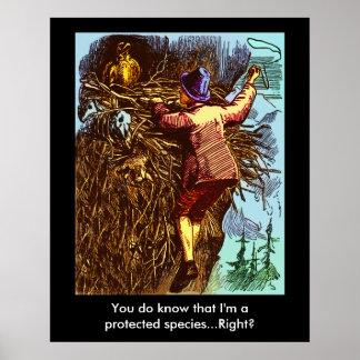 Protected Species Print