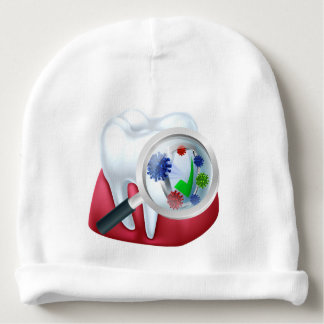 Protected Tooth and Gum Concept Baby Beanie