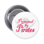 ProtectedbyPirates,Button 2 Inch Round Button