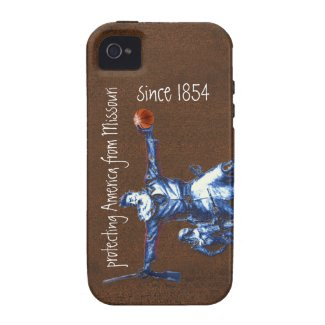 Protecting America From Missouri Since 1854 Vibe Iphone 4 Case