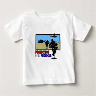 Protecting our freedom baby T-Shirt