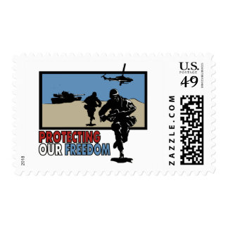 Protecting our Freedom postage