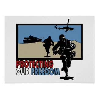Protecting our Freedom poster