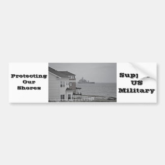 """Protecting our shores"" collection Car Bumper Sticker"