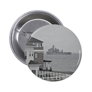 """""""Protecting our shores"""" collection 2 Inch Round Button"""