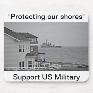 """""""Protecting our shores"""" collection Mouse Pad"""