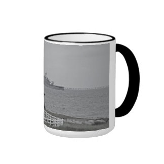 """""""Protecting our shores"""" collection Ringer Coffee Mug"""