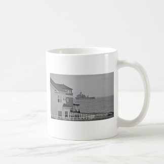 """""""Protecting our shores"""" collection Classic White Coffee Mug"""