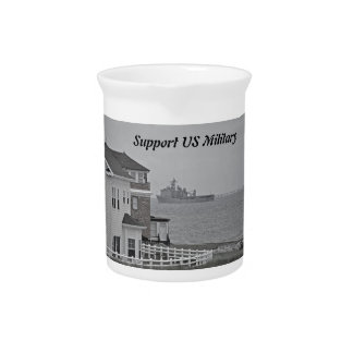 """""""Protecting our shores"""" collection Beverage Pitchers"""
